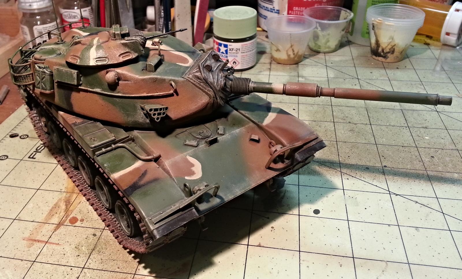 US Army M60A3, 2-68 Armor, Baumholder, FRG, 1983